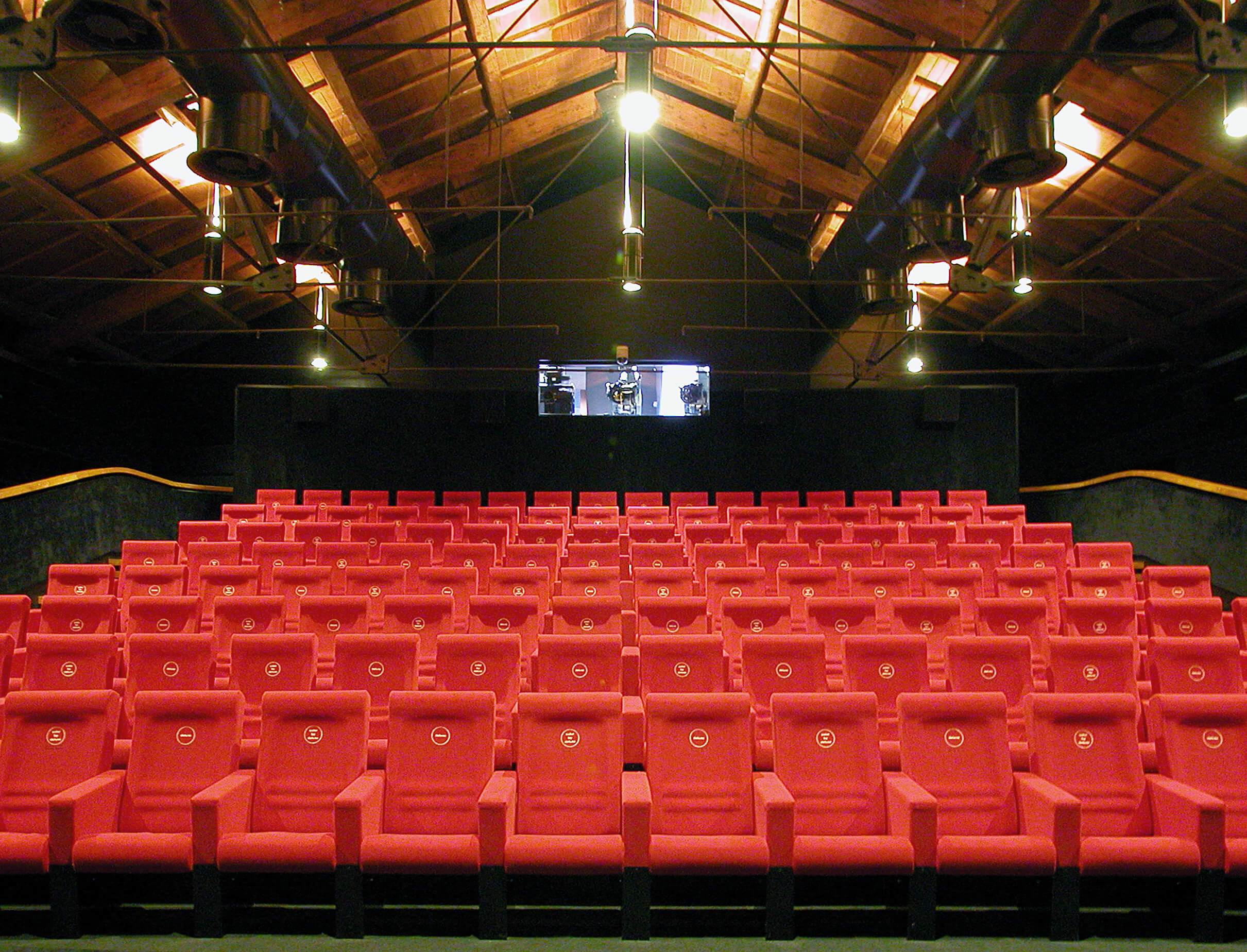 Sala cinema casa del cinema tappezzeria d 39 arredamento - Sala cinema in casa ...